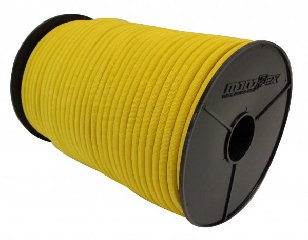 Expanderseil Gummiseil mit PP Mantel in Gelb