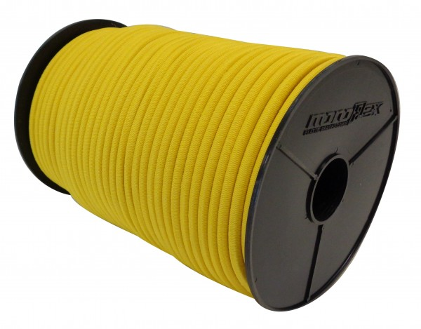 Expanderseil in Gelb mit PP Mantel