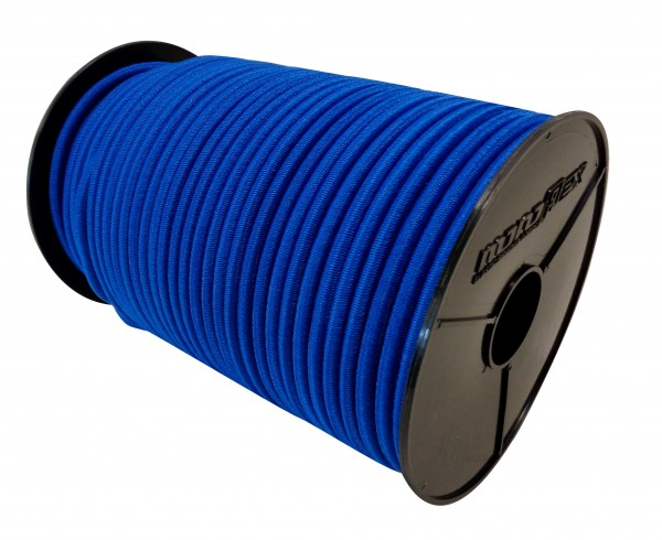 Expanderseil in Blau mit PE Mantel