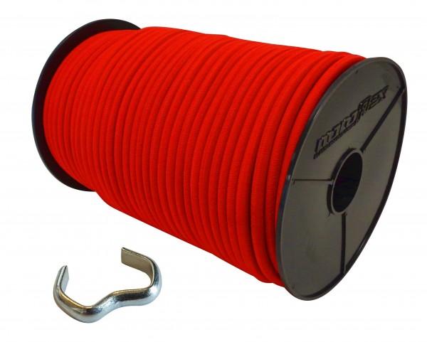 Expanderseil in Rot + Seilklemmen