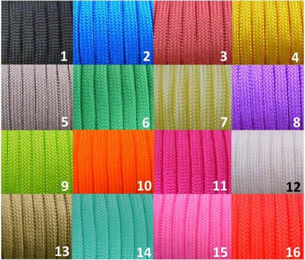 Paracord III 4mm Solofarbe