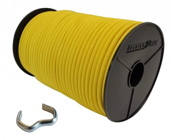 Expanderseil in Gelb + Seilklemmen